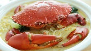 Crab Bee Hoon Soup - 螃蟹米粉汤