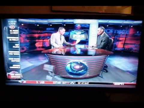 Tom Hood - my name is shown on ESPN on national television