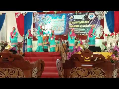 Az-Zahrah Voices - ANUGERAH EMAS KE-3 Nasyid Nujaim Peringkat Kebangsaan 2016@SK DATO' NANING