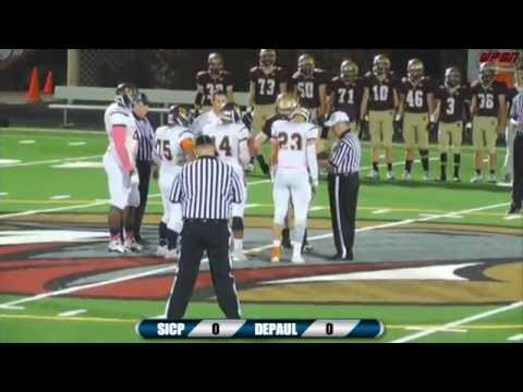 High School Football: St. Ignatius vs DePaul Prep