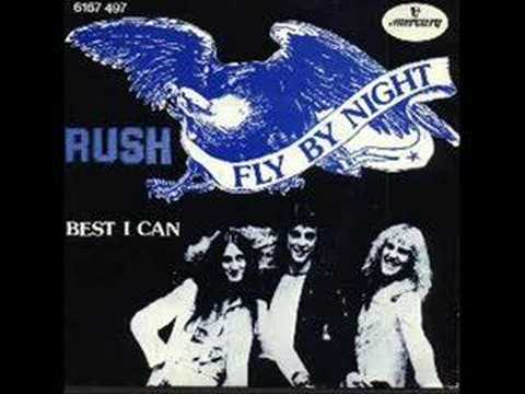 Rush - You Can't Fight It - First single on Moon Records