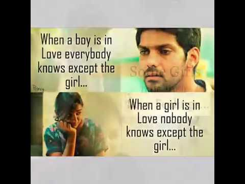 Raja Rani Love Quotes Youtube