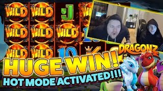 Dragonz Big win - Huge win on Casino Game - free spins (Online Casino)