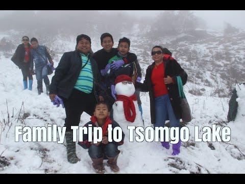 Family Trip to Tsomgo Lake, Sikkim