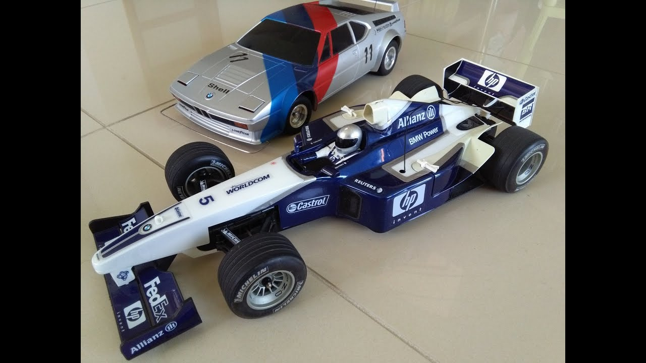 f1 bmw ralf schumacher rc nikko 1 10 youtube. Black Bedroom Furniture Sets. Home Design Ideas