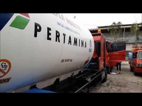 Fuel saver (HHO) Joko Energy on HINO FG 235 TI 8000Kg LPG Tank Truck