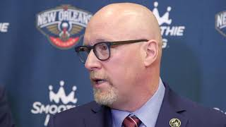 David Griffin on Anthony Davis situation: 'You're either all the way in or you're all the way out'