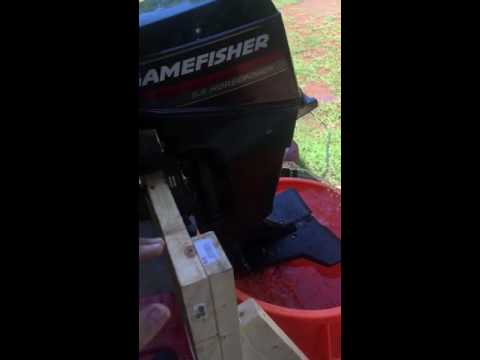 9.9hp Gamefisher Outboard Motor