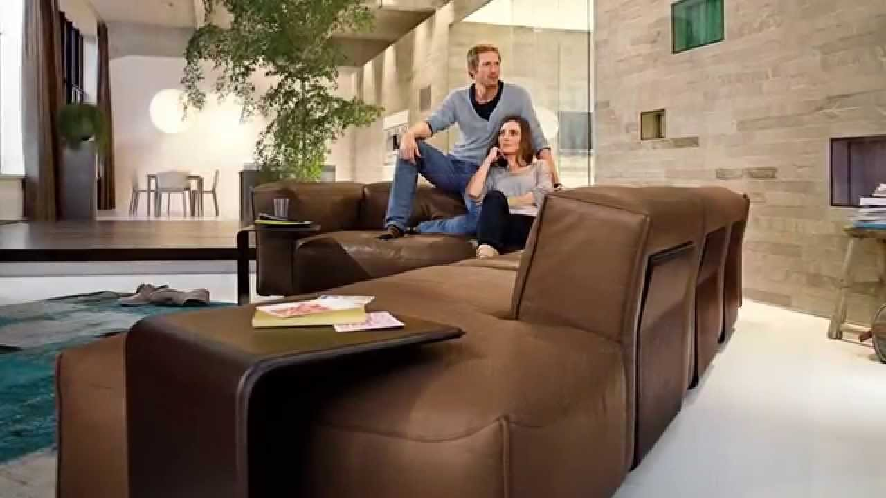 rolf benz mio sofa fci modern furniture store youtube. Black Bedroom Furniture Sets. Home Design Ideas