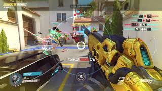 Soldier76 Quadruple Killshollywood Overwatch