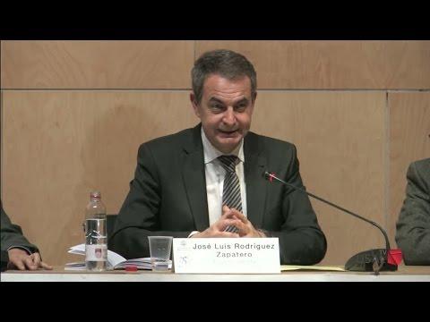 Conferencia José Luis Rodríguez Zapatero, expresidente Gobierno España,
