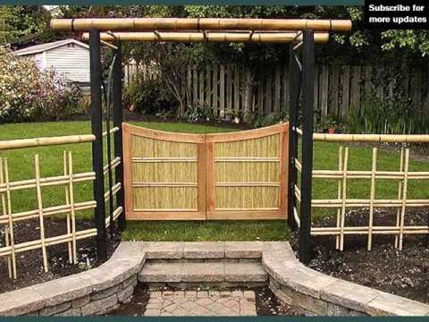 Bamboo Fencing Ideas Fence Ideas And Designs YouTube
