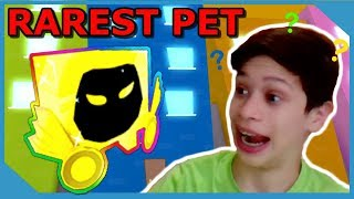 SURPRISING MY LITTLE NEPHEW WITH MY RAREST PET IN ROBLOX PET SIMULATOR