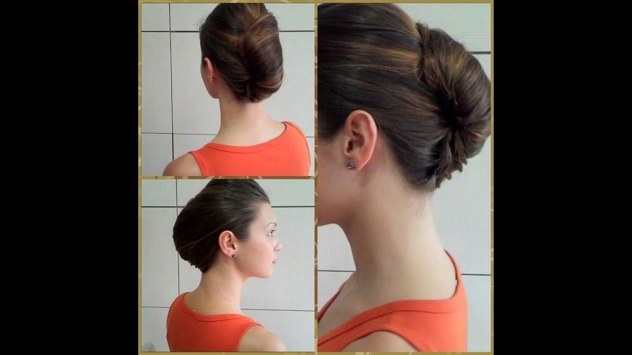 Как сделать причёску из длинных волос видео уроки