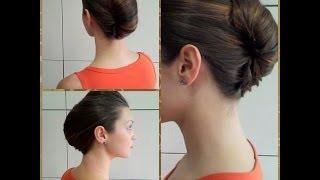 Трилогия Ракушек: Прическа Ракушка для длинных волос, French Twist
