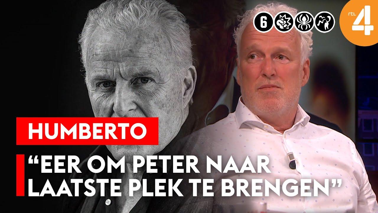 Wouter de Vries over afscheid van broer Peter R. de Vries | Humberto | RTL Talkshow