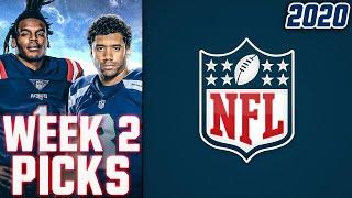 NFL WEEK 2 PICKS 2020 NFL GAME PREDICTIONS | WEEKLY NFL PICKS
