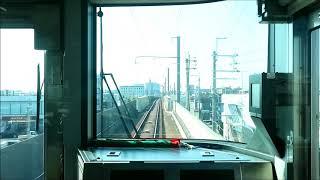 【前面展望】阪和線羽衣支線 225系 鳳→東羽衣【営業運転初日】