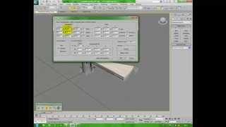 Modellare una scala a chiocciola in 3Ds Max - Spiral staircase - Architettura