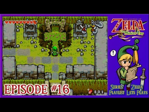 The Legend Of Zelda: The Minish Cap - The Fortress Of Winds Begins - Episode 16