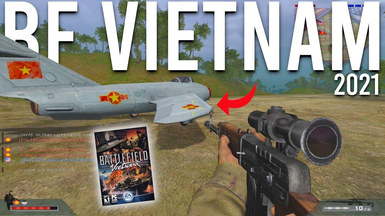 Battlefield Vietnam Multiplayer In 2021 MiG-17 Gameplay