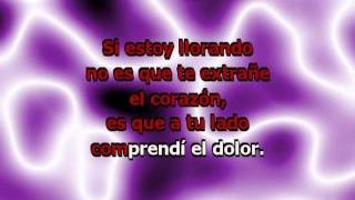 No Podrás (con Letra) - Cristian Castro (karaoke)