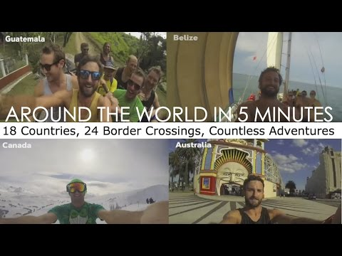 Travel the world in 5 minutes (Irish guy