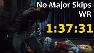 [WR] Batman: Arkham Asylum Speedrun (No Major Skips) in 1:37:31