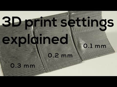 3D Printing SETTINGS EXPLAINED - for Beginners