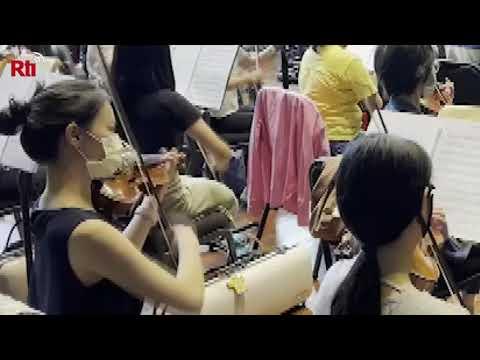 Kaohsiung Symphonieorchester probt für Nationalfeiertag