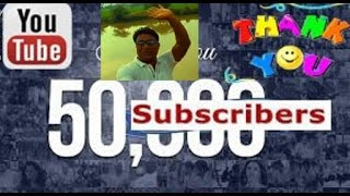 vuclip Heartily Thank you my all lovely & Sweet  50K Subscribers !! My Sucess Story