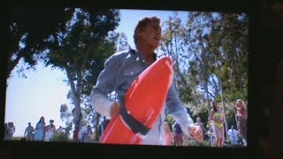David Hasselhoff Saves Michael Winslow Baywatch Style