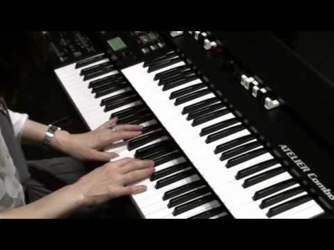 """""""My Old Kentucky Home"""" by Stephen Foster on the Theater Organ (Roland ATELIER Combo AT-350C)"""