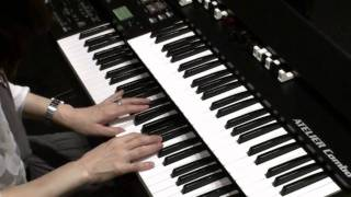 """My Old Kentucky Home"" by Stephen Foster on the Theater Organ (Roland ATELIER Combo AT-350C)"