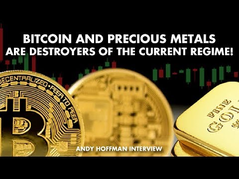 Bitcoin And Precious Metals Are Destroyers Of The Current Regime! - Andy Hoffman Interview