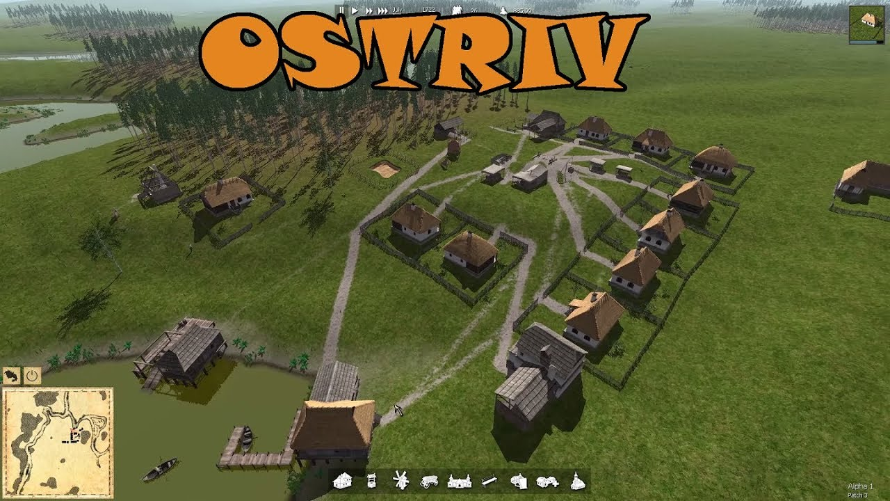 Ostriv First Look Alpha 1 Gameplay New City Builder Review Game Footage Youtube