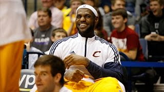Nike Signs Lifetime Deal With LeBron James