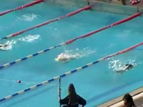 Joanna 50m butterfly lane 2 girls 10yo 08042012