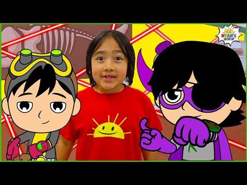 Spy Kid Ryan Secret Mission | Cartoon Animation for kids
