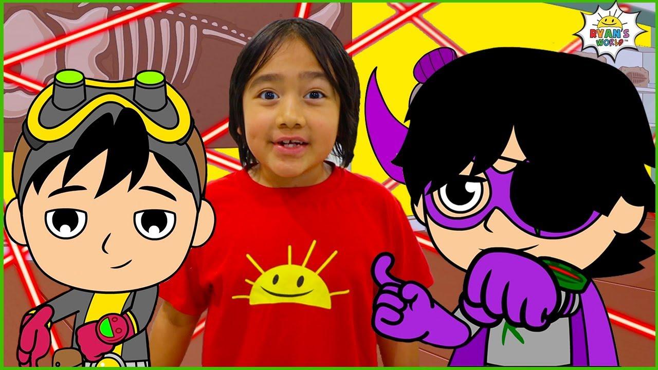 Download Spy Kid Ryan Secret Mission | Cartoon Animation for kids