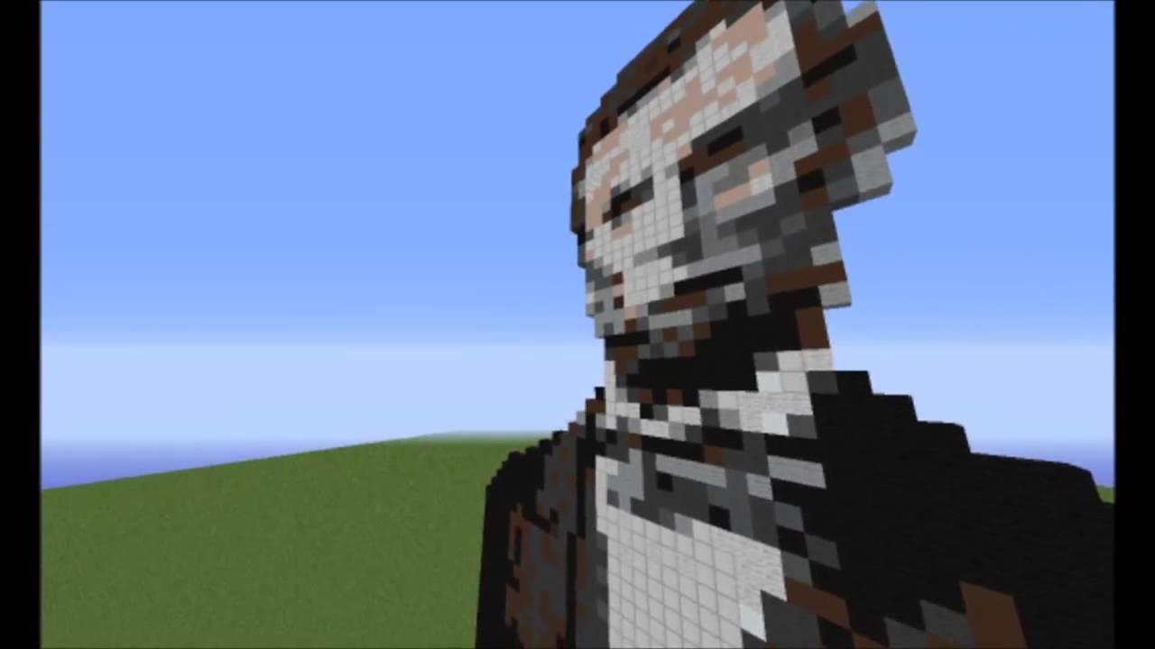 Minecraft Americans Presidents Pixels Art YouTube - Skin para minecraft pe de obama