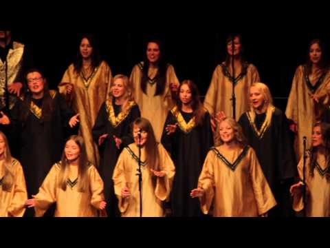 God is here - Riga Gospel Choir (World Choir Games 2014)