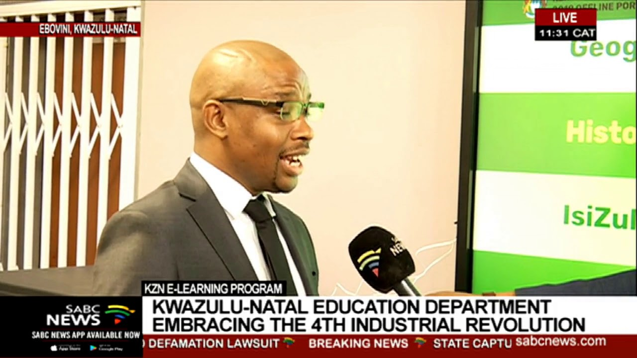 Education Department Launches New >> Education Department Launches E Learning Programme In Emadungeni