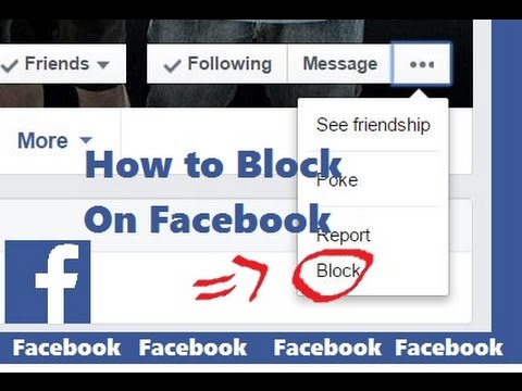 How to Block and Unblock Someone on Facebook 2015