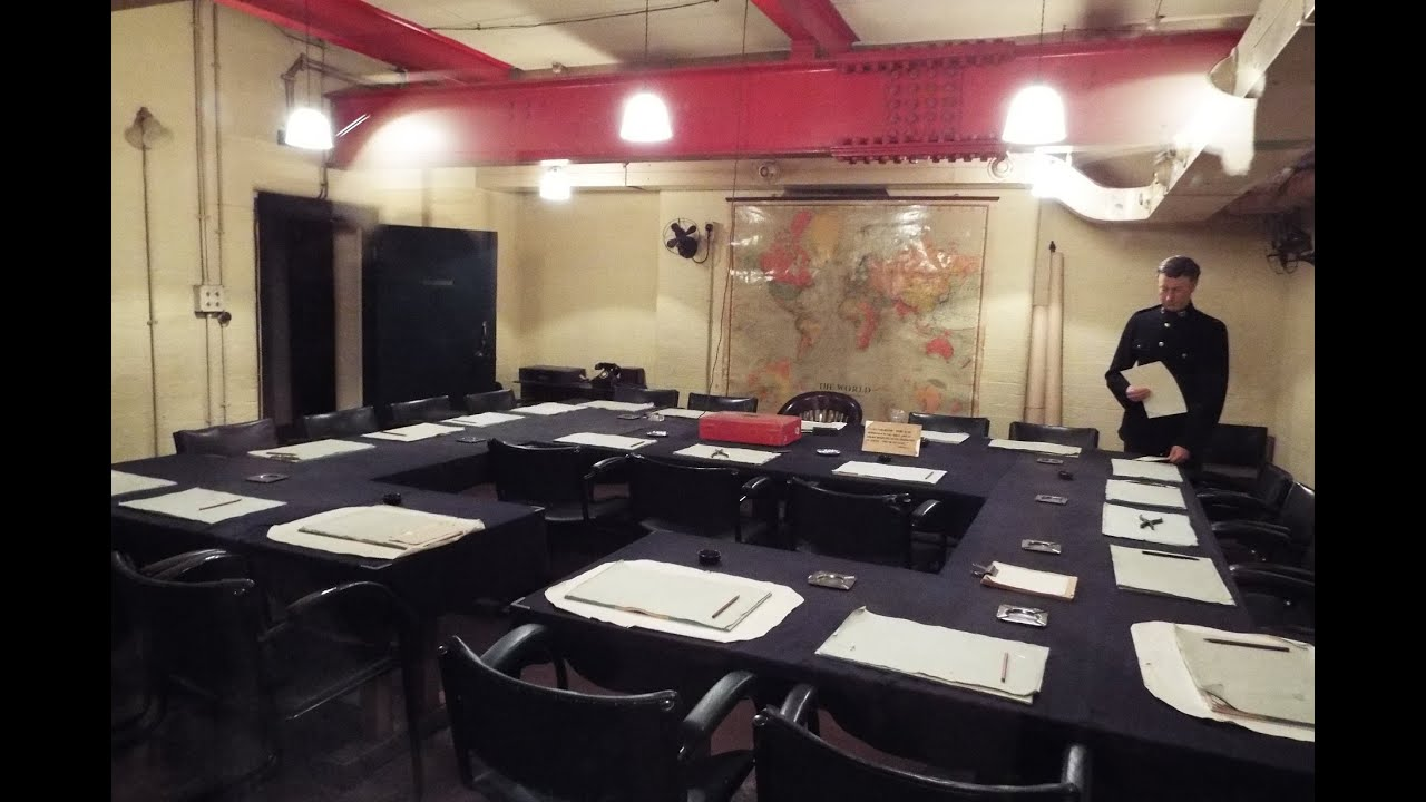 Cabinet War Museum Inside The Churchill War Rooms Youtube