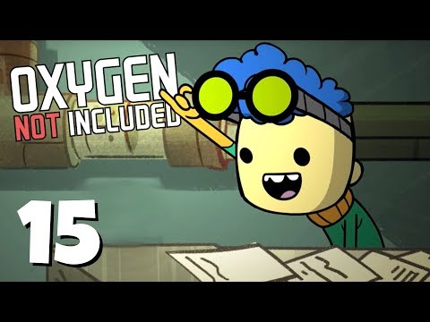 Natural Gas Plant Online! - Ep. 15 - ONI Oil Update! - Let's Play Oxygen Not Included Gameplay