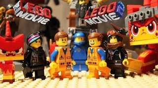 Original LEGO MOVIE VS LEGO MOVIE 2 - Ultimate Character Battle