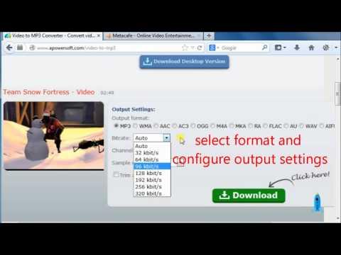 Metacafe To MP3 Converter - Download Metacafe Audio Free