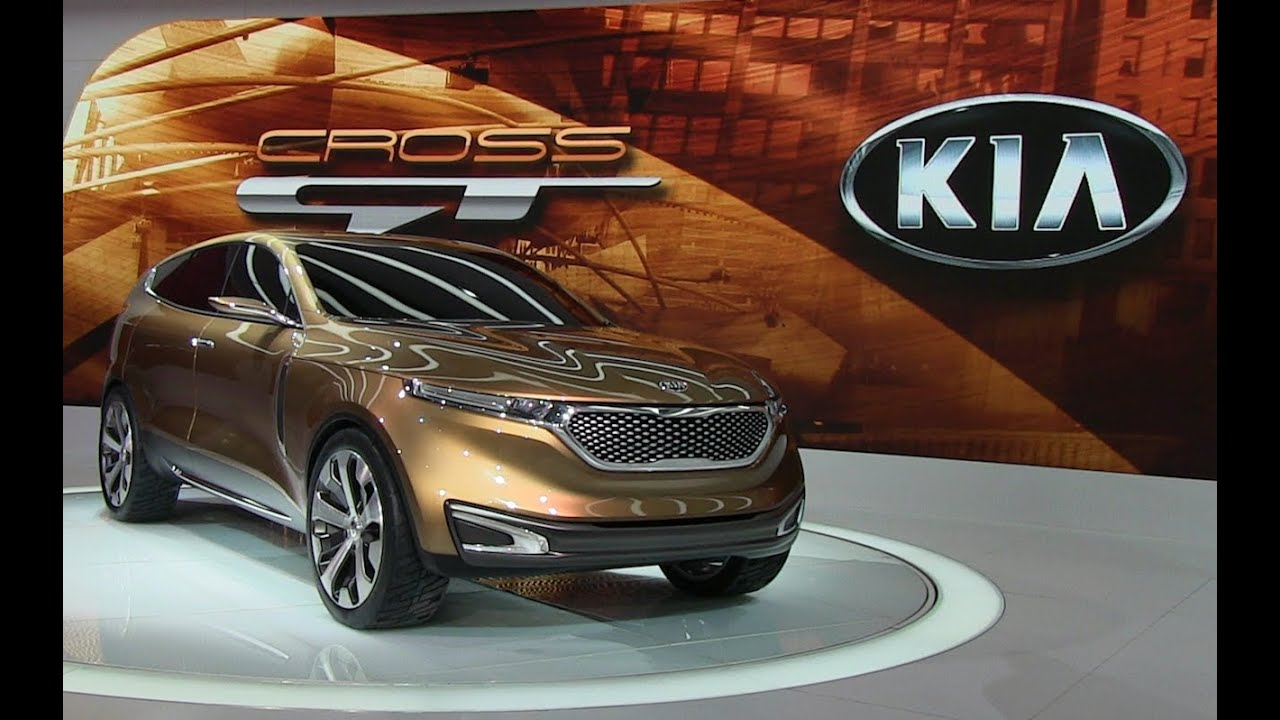watch the kia cross gt concept car debut at the chicago auto show