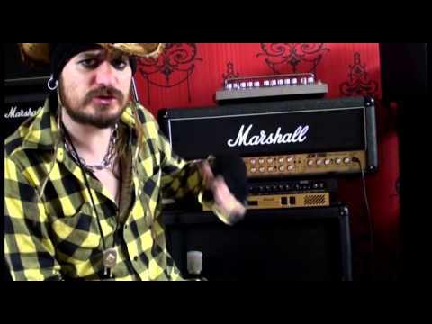 Como configurar un amplificador de guitarra